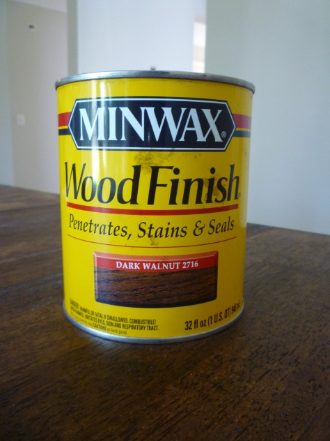 oil staining wood