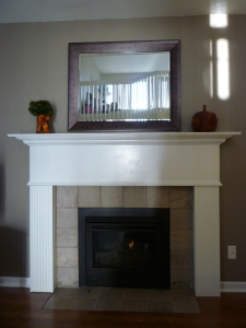 Mantel Overhaul Part III: Our finished masterpiece ...