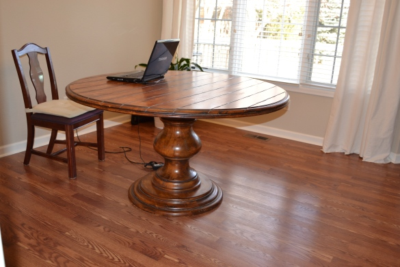 making dining table