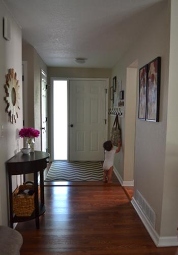 Small Foyer Coat Rack : Chevron entry rug roselawnlutheran