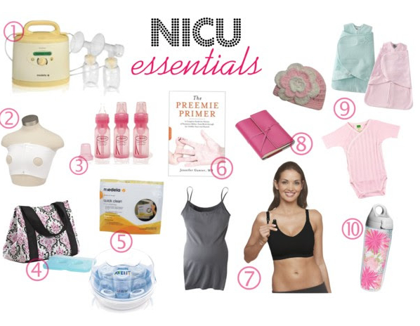 NICU top ten essentials must haves